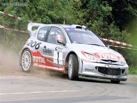 car peugeot 206 cars peugeot 206 wrc picture nr 12358