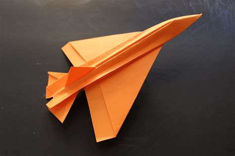 Jet Plane Origami - how to make a cool paper plane origami jet