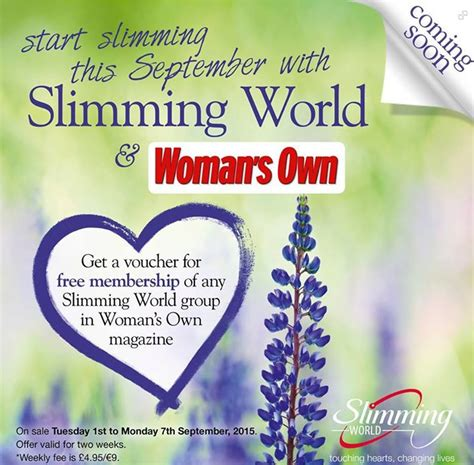 printable vouchers slimming world slimming world free membership voucher for joining a