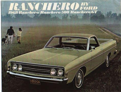 1968 Ford Ranchero Repair Manual