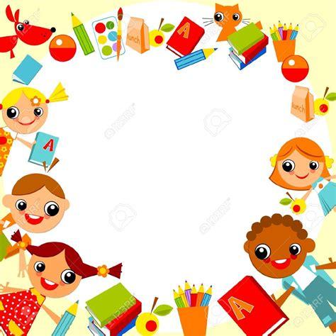template lop undangan child clipart boarder pencil and in color child clipart