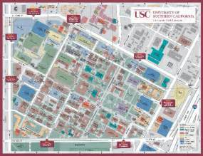 universities in southern california map california map