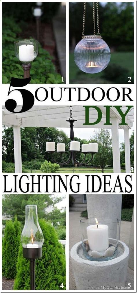 Cheap Backyard Lighting Ideas Pin By Chelsea Collom On Cheap Backyard Secondhand Diy Landscaping