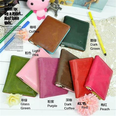 Card Holder Murah 6 Slot Card 1 Slot Money Black T1310 5 korean style simple wallet my store