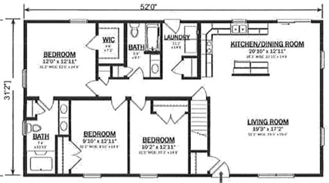 Cape Cod House Designs by R162132 1 By Hallmark Homes Ranch Floorplan
