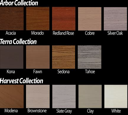 azek colors azek deck colors building materials supplies