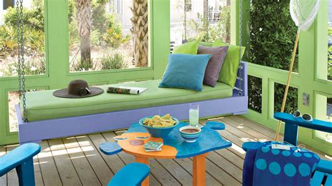 Beach Themed Patio Decor Beach Decorating Ideas Outdoor Spaces Southern Living