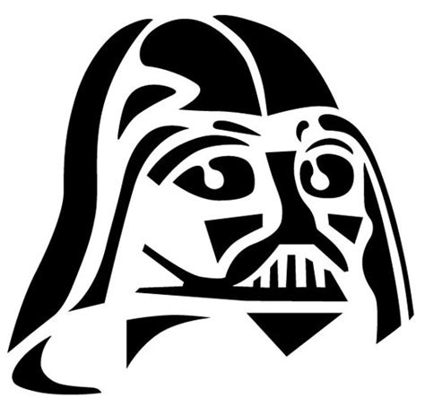 wars pumpkin templates darth vader wars pumpkin carving stencil