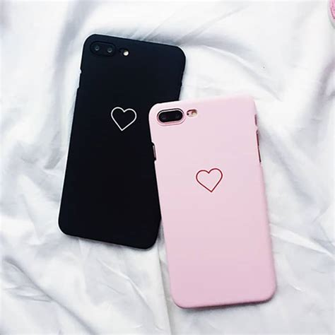 simple heart iphone case iphone   kawaii case