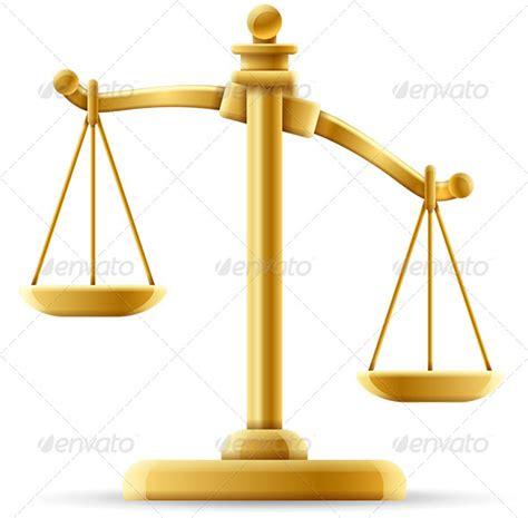 Timbangan Cin unbalanced scale of justice graphicriver