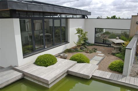 Maison Contemporaine Avec Patio Interieur by Maison D Architecte Avec Patio Int 233 Rieur