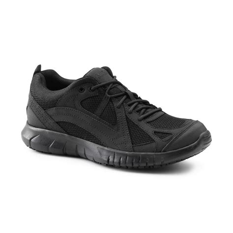 slip resistant athletic shoes keuka suregrip mens envoy black athletic slip resistant
