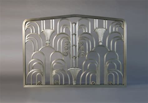 Fireplace Doors Chicago by Deco Fireplace Screen Eclectic Fireplace Screens