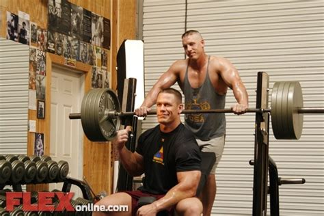 john cena weight training pinterest