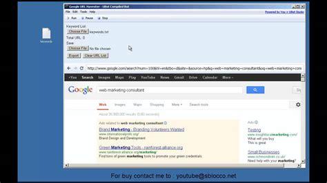 url video max google url harvester youtube