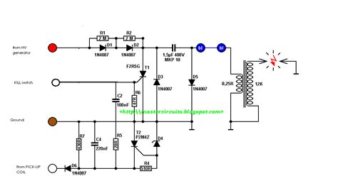 simple led circuit schematics simple get free image