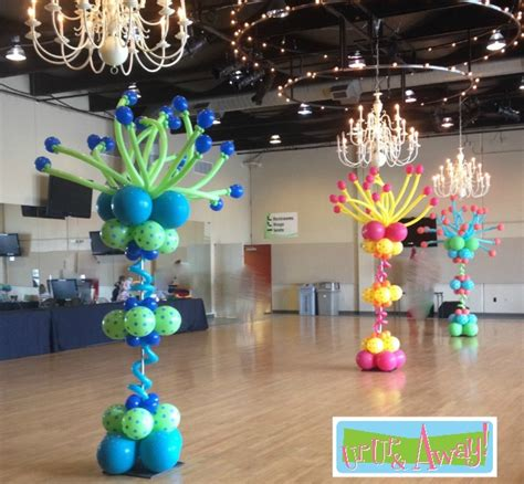 Columns up up and away 174 balloons