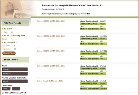 Search Birth Records By Mothers Name Get Your Civil Records Aweekofgenealogy