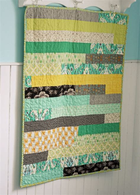 Simple Modern Quilt by Modern Baby Quilt Gossip News Patterns And Easy Quilts