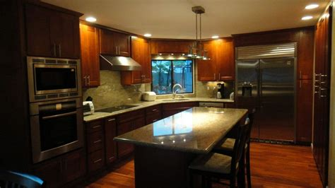 Kitchen Cabinets Honolulu by Light Cherry C Amp C Cabinets And Granite