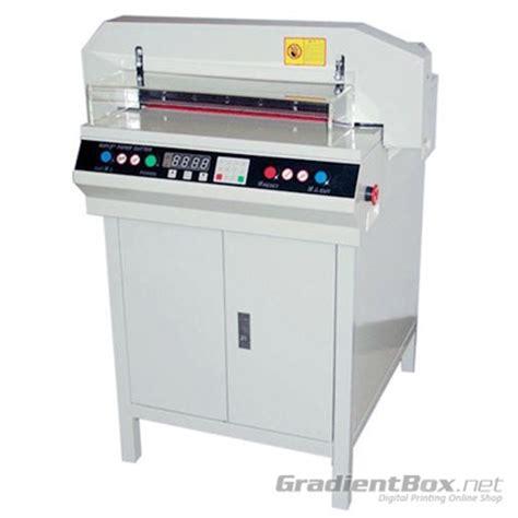 Mesin Laminating Otomatis mesin potong kertas otomatis model yg 450 gradientbox net