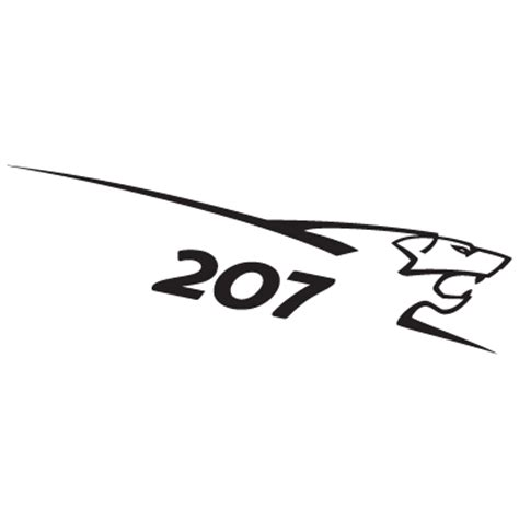 logo peugeot sport peugeot 207 lion logo vector eps ai cdr pdf svg