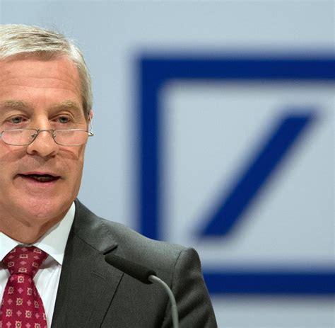 aufsichtsrat deutsche bank aufsichtsrat deutsche bank chef fitschen soll l 228 nger