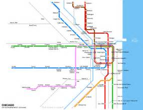 Chicago Metro Map by Rapid Transit Trains To Chicago Airports O 27hare Amp Midway