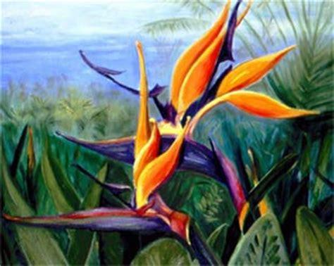 janis stevens flower paintings  oil night blooming