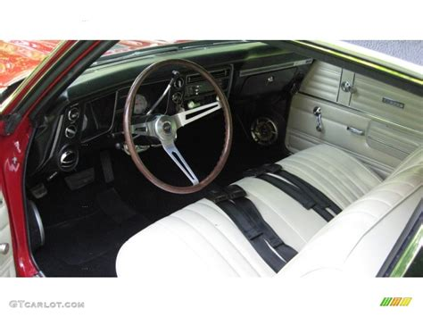 1968 chevrolet chevelle ss 396 sport coupe interior color
