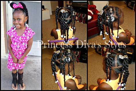 Watch Me #1: Llittle Girls Hair Style Simple Ponytails