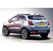 The Fiat 500X Shown Here Is A Rival To MINI Countryman And Shall