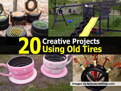 diy projects with tires 20 creative projects using tires