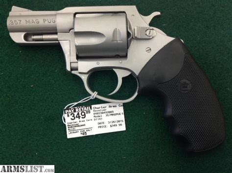 charter arms 357 mag pug for sale armslist for sale charter arms 357 mag pug