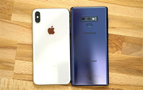 video smackdown comparing  iphone xs max   samsung galaxy note