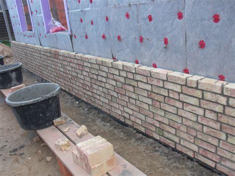 Klinker Mauern Im Garten by Heim Elich Mauern Tag 3