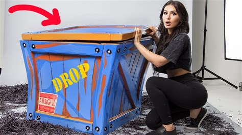 unboxing  real life fortnite supply drop youtube