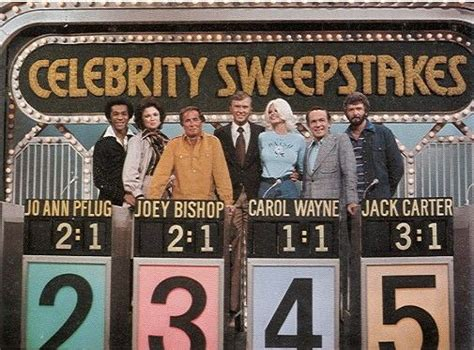 celebrity sweepstakes classic tv game shows pinterest - Celebrity Sweepstakes
