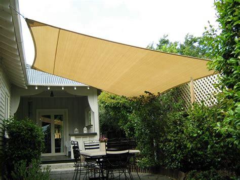 vele per terrazzi vele ombreggianti arredamento giardino modelli e