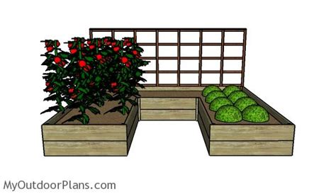 raised garden bed plans free diy raised garden bed plans myoutdoorplans free woodworking plans and projects