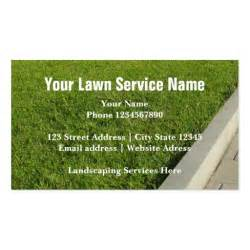 lawn service business cards landscaping service and lawn care business cards zazzle