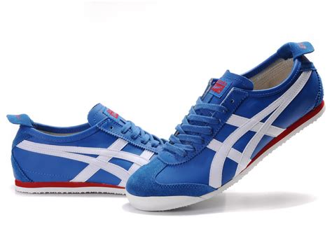 onitsuka tiger sneakers womens onitsuka tiger blue white mexico 66 shoes