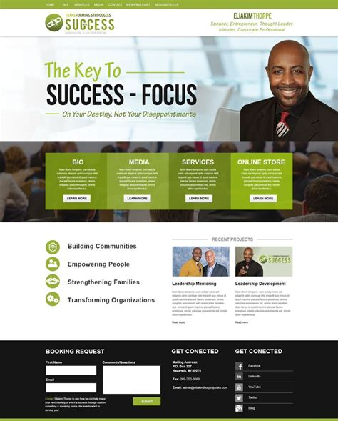 17 Best Images About Public Speaker Website Design On Pinterest Physical Therapist Speaker Speaker Website Templates