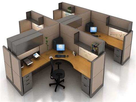 Modular Computer Desk Furniture Office Furniture Computer Workstation Modular Desk Furniture Modular Office Desks Small Space