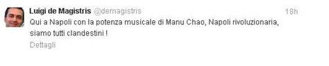 clandestino manu chao testo foto in dieci mila per manu chao e il sindaco twitta 1