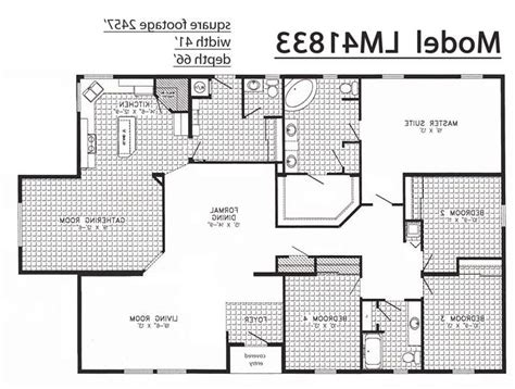 triple section manufactured homes triple wide floor plans photos