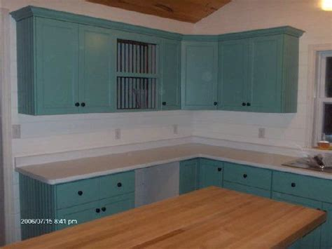 teal cabinets kitchen painted kitchen cabinets teal 5100 series shaker painted