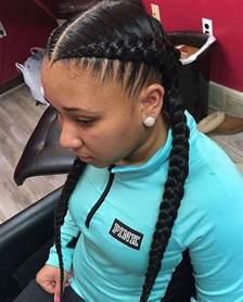 2 braids in front hair hairstyle hair best 25 2 cornrow braids ideas on pinterest black hair