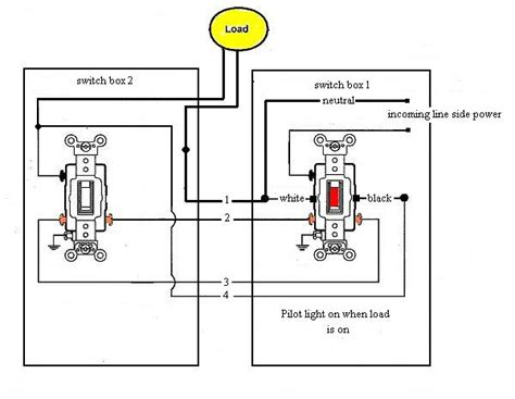switch  pilot light electrical diy chatroom