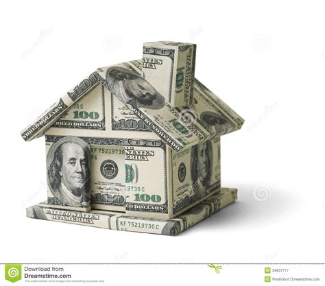 home design free money real estate money house made cash isolated white
